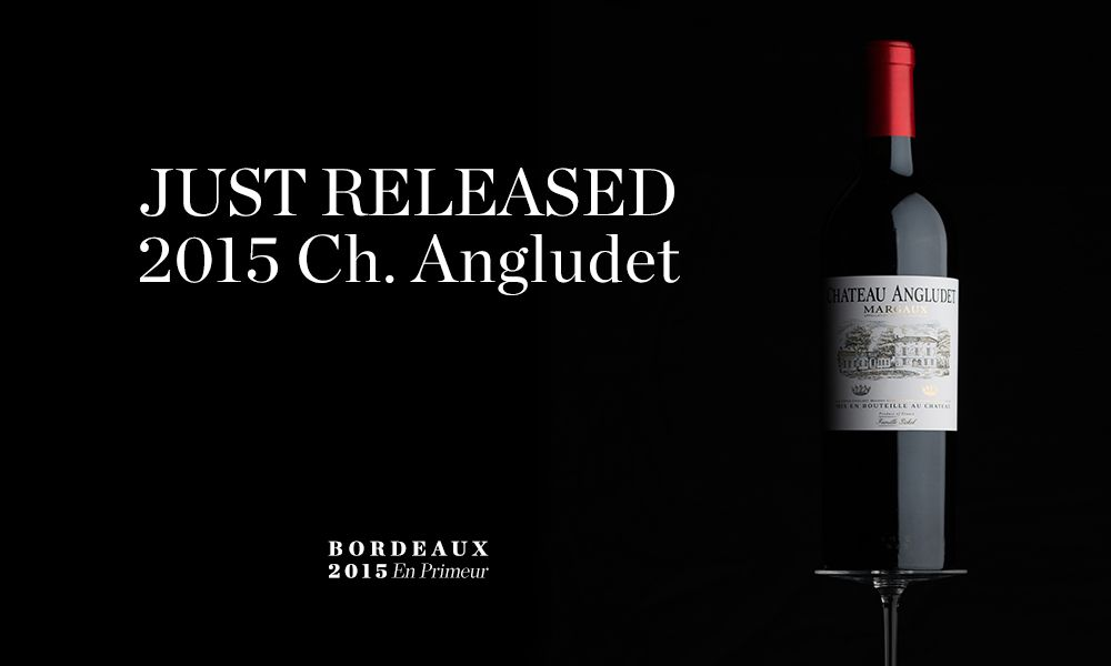 2015 Ch. Angludet En Primeur available at Berry Bros. & Rudd