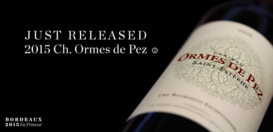 2015 Ch. Ormes de Pez En Primeur available at Berry Bros. & Rudd