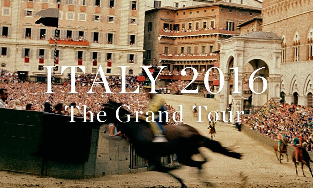 Italy 2016: The Grand Tour