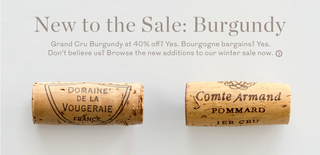 Winter Sale at Berry Bros. & Rudd