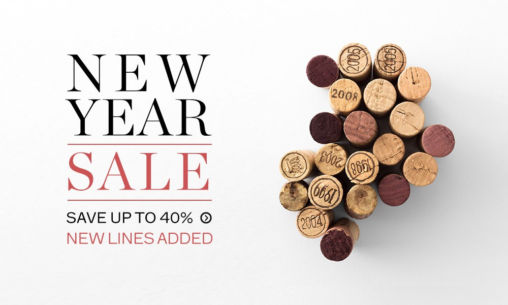 Up to 40% off new lines now added to our New Year Sale available at Berry Bros. & Rudd