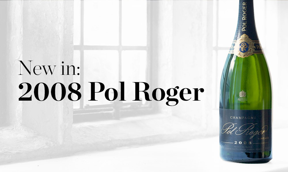 2008 Pol Roger available at Berry Bros. & Rudd