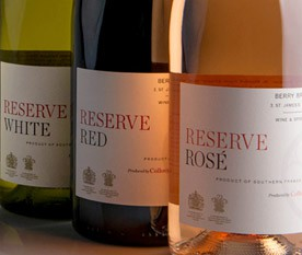 Our delicious Reserve wines available at Berry Bros. & Rudd.