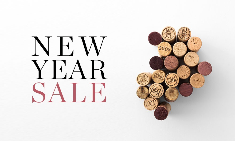 Up to 40% off wine in our New Year Sale available at Berry Bros. & Rudd