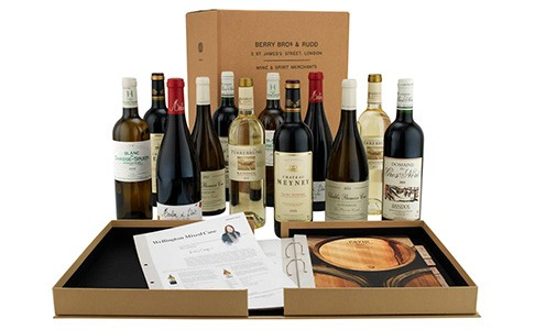 Wine Club as a gift available at Berry Bros. & Rudd.