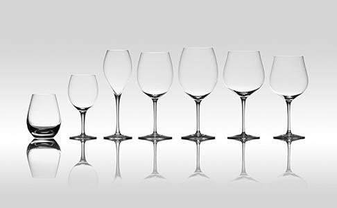 The Wine Merchant's glasses available at Berry Bros. & Rudd.