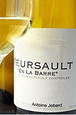 2010 Meursault, En la Barre, Domaine Antoine Jobard