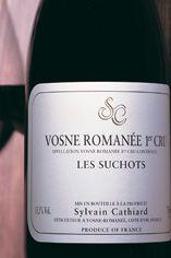 2010 Vosne-Romanée, Les Suchots, 1er Cru Domaine Sylvain Cathiard