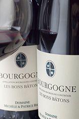 2010 Bourgogne Rouge, Les Bons Bâtons, Patrice et Michèle Rion