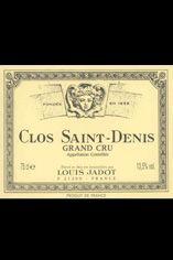 2010 Clos St Denis, Grand Cru Louis Jadot