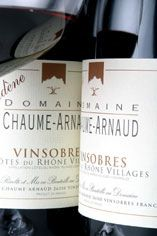 2010 Vinsobres Rouge, Domaine Chaume Arnaud