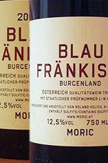 2010 Blaufränkisch Burgenland, Moric