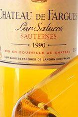 2003 Ch. de Fargues, Sauternes