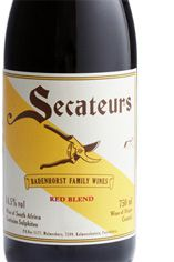2011 Secateurs Red Blend, Swartland, A. A. Badenhorst, South Africa