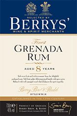 Berrys' Own Selection Grenada Rum, Aged 8 Years, 46.0%