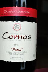 2011 Cornas, Patou, Domaine Dumien-Serrette