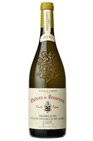 2010 Ch. de Beaucastel, Roussanne Blanc Vieilles Vignes, Domaine Perrin