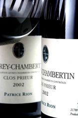 2002 Gevrey-Chambertin, Clos Prieur, Patrice Rion