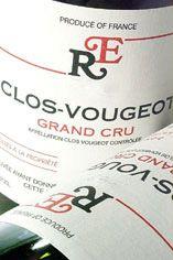 2003 Clos de Vougeot, Grand Cru, Domaine René Engel