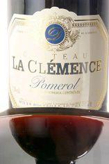 2012 Ch. la Clemence, Pomerol