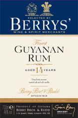 1998 Berrys' Own Guyana Rum, 14-year-old, 46%