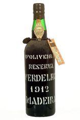 1912 Verdelho, Madeira Pereira d'Oliveira,