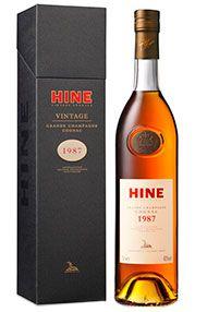1987 Hine, Grande Champagne Cognac, (40.0%)