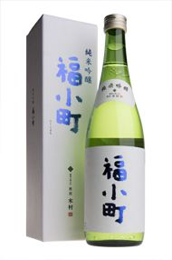 Fukukomachi, 'Junmai Ginjo, Sake, Akita Prefecture, Kimura Brewery