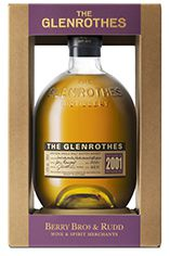 2001 The Glenrothes, Speyside, Single Malt Scotch Whisky, 43.0%