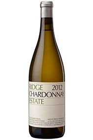 2012 Ridge Estate Chardonnay, Santa Cruz Mountains, California