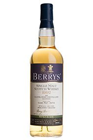 1992 Berrys' Glenlossie, Speyside, Single Malt Whisky (46%)