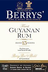 Berrys' Guyanan Rum, 15-year-old (46%)