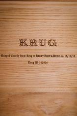 Champagne Krug, Grande Cuvée, BBR Ltd Edition