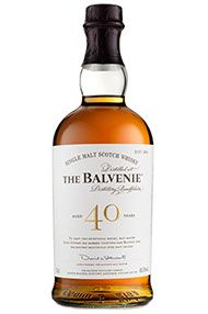 Balvenie 40-year-old, Speyside, Single Malt Whisky, (48.5%)