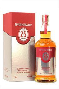 Springbank 25-year-old, Single Malt Scotch Whisky, Bottled 2014, 46.0%