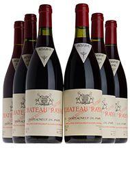 Château Rayas, Assortment Case 6, 2bts of each: 98,99,00,01,03,04