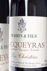 2007 Vacqueyras, Les Christins, Domaine Perrin Père et Fils