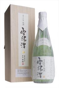 Yukiyuzawa, Junmai Daiginjo Genshu, Sake, Kimura Brewery
