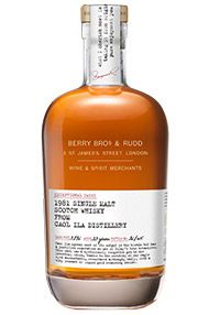 1981 Berrys' Caol Ila, Cask 3276, Islay, Single Malt Whisky, 46.0%