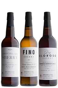Sherry Trio, 3-Bottle Mixed Case