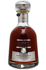2001 Diplomático Single Vintage Rum, Venezuelan Rum (43%)