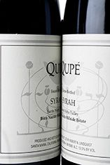 2000 Qupé Syrah, Hillside Select, California