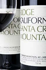 2005 Ridge, Santa Cruz Mountains, Cab Sauv/Merlot, California