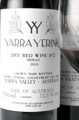 2003 Yarra Yering Dry Red No.2 Shiraz, Yarra Valley, Victoria