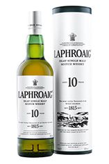 Laphroaig 10-year-old, Islay, Single Malt Scotch Whisky (40%)