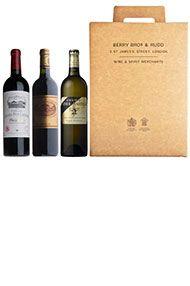 Bordeaux Trio, 3-bottle Gift Pack