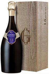 Champagne Gosset, 15 Ans de Cave Brut