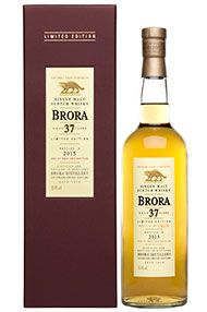Brora, 37-year-old, Highland, Single Malt Whisky, Btd 2015, 50.4%