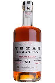 Texas Legation Batch No. 1, Texas Bourbon Whiskey (46%)