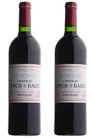1996 Ch. Lynch Bages, Pauillac, Pack of 2 x 75cl